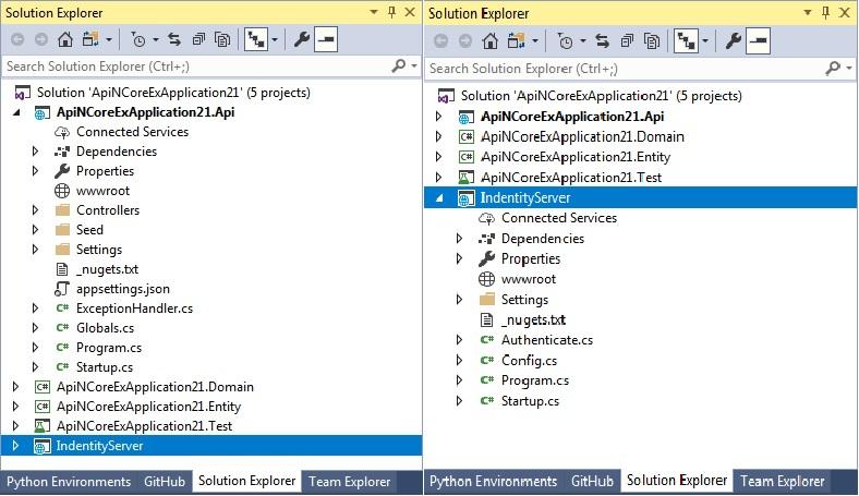AnaSoft Inc  - ApiNCore VS2017/VS2019 extension template for