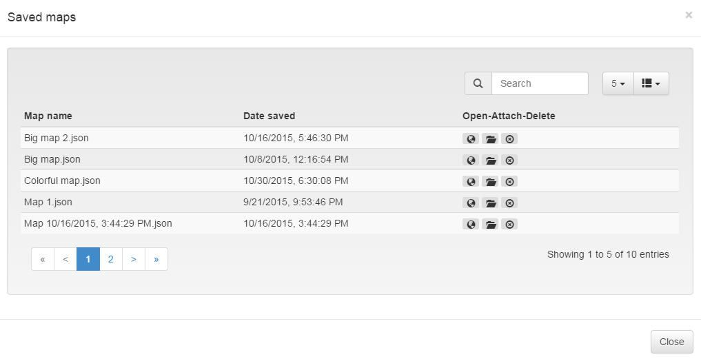Google Drive JQuery plugin